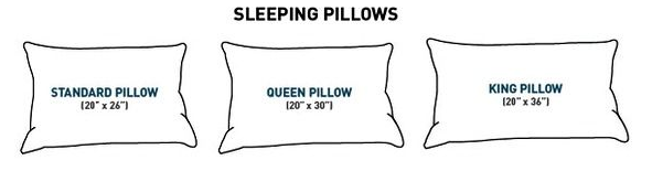 Sep 02,  · Among American sized pillows, the King size pillow is the largest. King size pillows have an extra-long measurement of 20'' x 36''. On a standard King size bed, two of these pillows side by side will fit comfortably/