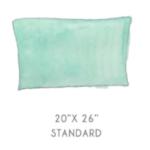 """standard pillow size 20x26"""""""